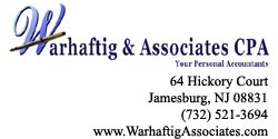 Warhaftig & Associates, CPA - Your Personal Accountants